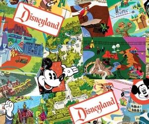 background, disneyland, and magic image