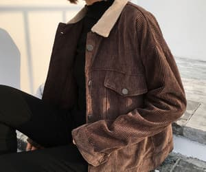 outfit, brown, and aesthetic image