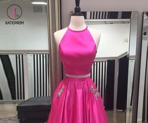 ball gown, prom dress, and formal dress image