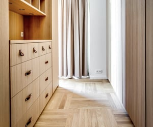 apartment, bedroom, and closet image