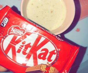 chocolate, snack, and kitkat image