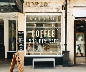 coffee, cafe, and places image