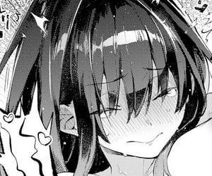 girl, hentai, and manga image