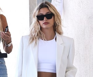 hailey bieber, fashion, and style image
