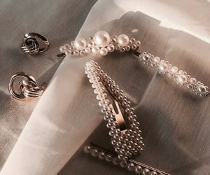 accessories, clip, and earrings image