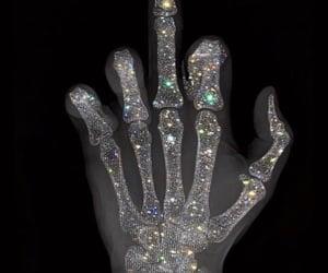 classy, dark, and finger image