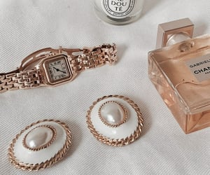 jewelry, chanel, and earrings image