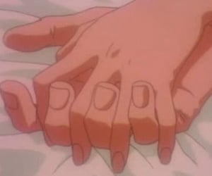 anime, aesthetic, and 90s anime image