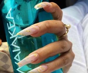 acrylics, design, and long nails image