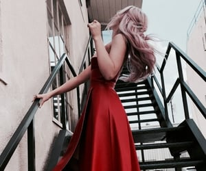 dove cameron and stairs image