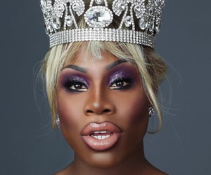 drag, drag queen, and makeup image