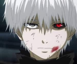 tokyo ghoul, ken kaneki, and kaneki image