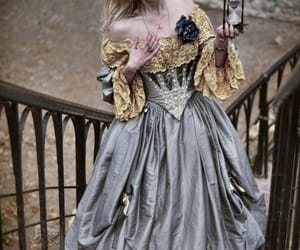 fairytale, dress, and girl image