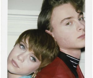 it, wyatt oleff, and sophia lillis image