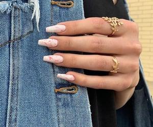 gel, hand, and jewellery image