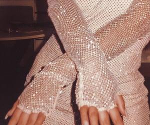 fashion, nails, and glitter image