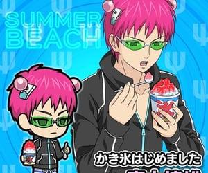 anime, rp theme, and saiki kusuo image