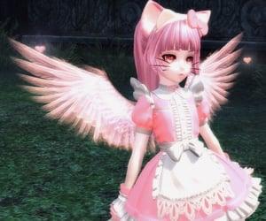 angel, screenshot, and tera online image