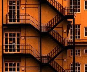 orange, aesthetic, and building image