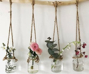 home, diy, and flowers image