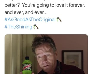 mountain dew, super bowl, and The Shining image