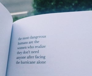 quotes, woman, and book image
