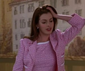 Anne Hathaway, pink, and princess diaries image