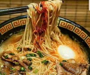 asian, japanese food, and noodles image