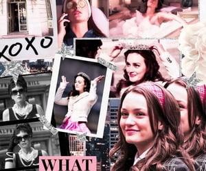 blair waldorf, background, and gossip girl image