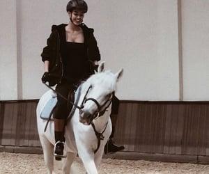 aesthetics, horse, and model image