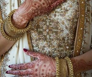 belleza, moda, and henna image