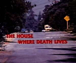 death and house image