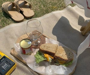 food, picnic, and summer image