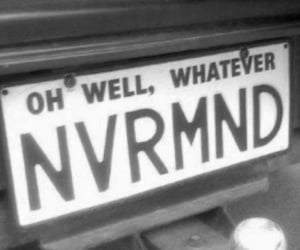 grunge, black and white, and Nevermind image
