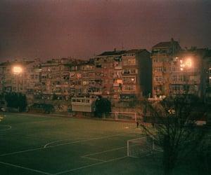 football, night, and vintage image