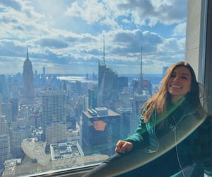 girl, goals, and top of the rock image