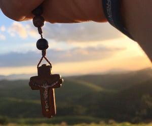 Catholic, jesus, and rosary image