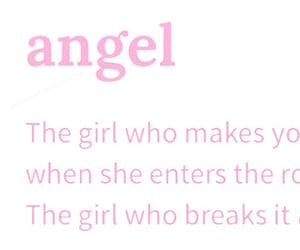 angel, literature, and pink image