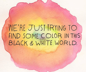 quote, color, and world image