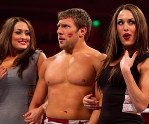 wwe, bryan danielson, and brie bella image
