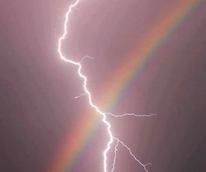 different, nature, and rainbow image