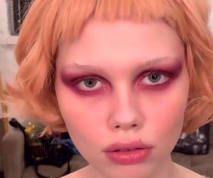 haircut, makeup, and maquiagem image