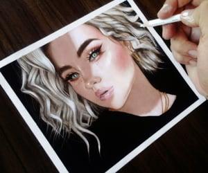acrylic, acuarela, and art image