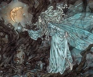 branches, faerie, and faeries image