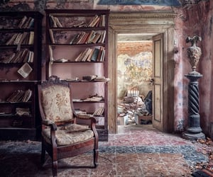 abandoned, book, and photography image