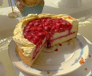 blue, cake, and dessert image