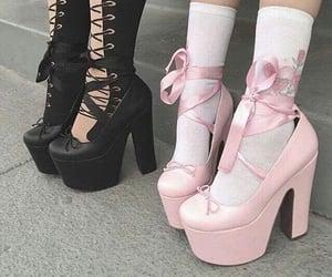 black, girl, and heel image
