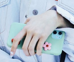 flowers, hand, and hq image