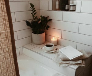 bath, bubble bath, and relax image