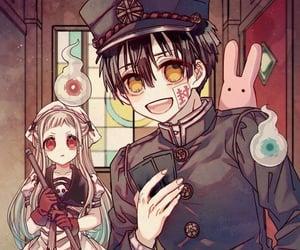 anime, couple, and hanako image